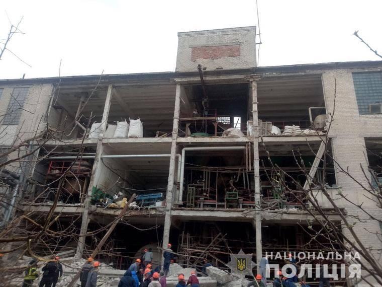 донбасс, происшествия, полиция, взрыв, лисичанск, лисичанский желатиновый завод, погибшие