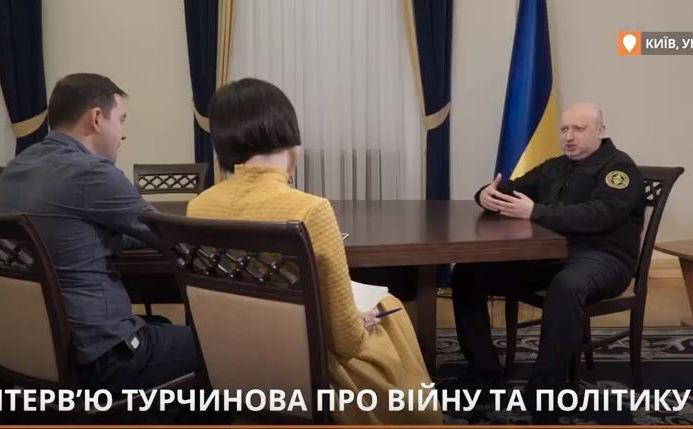 """""""Закон не исключает деоккупации силовым путем"""", - Турчинов рассказал о планах Киева по ОРДЛО - кадры"""