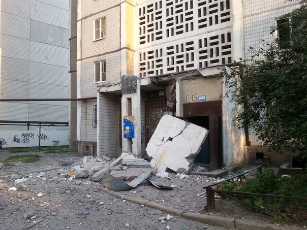 Ночью в Донецке обстреляли Ленинский район, есть жертвы