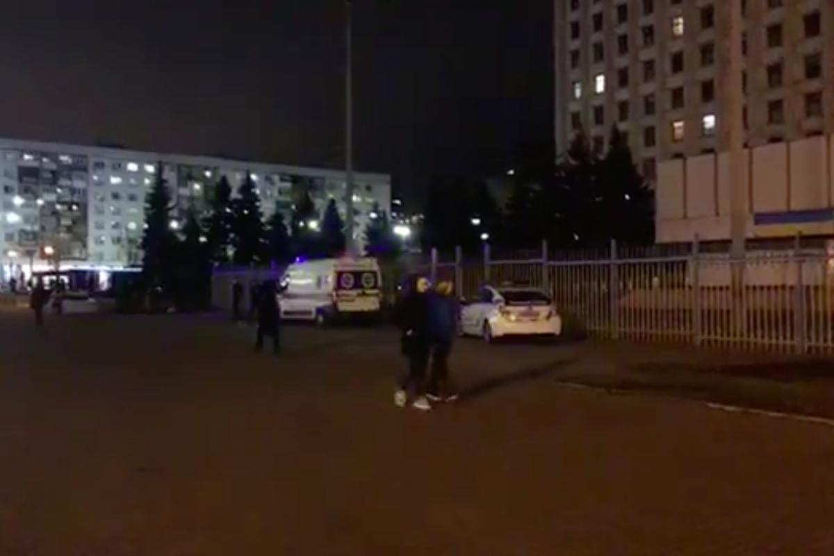 киев, цик, стрельба, украина, полиция