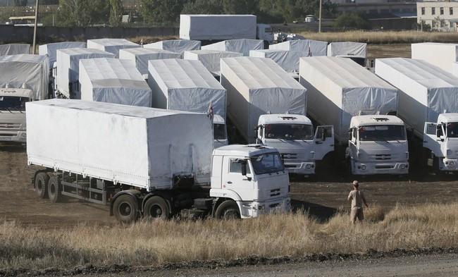 В России заявили, что гуманитарный конвой границу с Украиной не пересекал