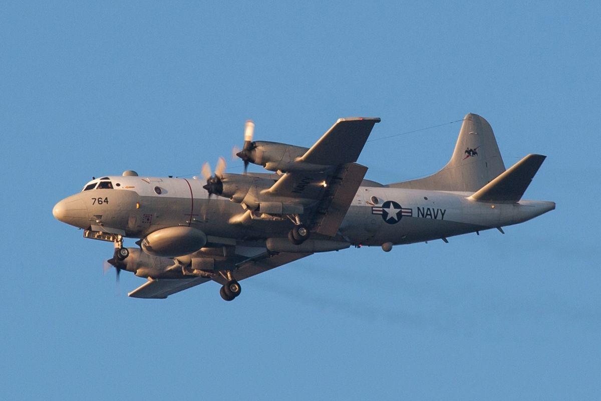 В день визита Патрушева в Крым самолет ВМС США EP-3E Orion вплотную приблизился к полуострову