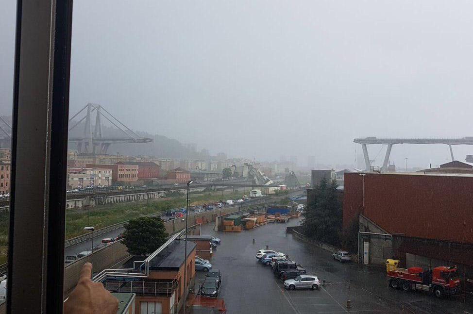 италия, генуя, мост, обрушение, чп, жертвы