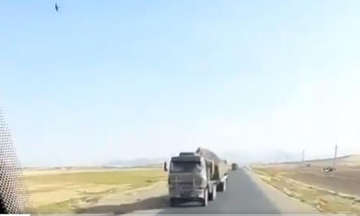 Война за Карабах: Иран стягивает к границе с Азербайджаном тяжелую бронетехнику