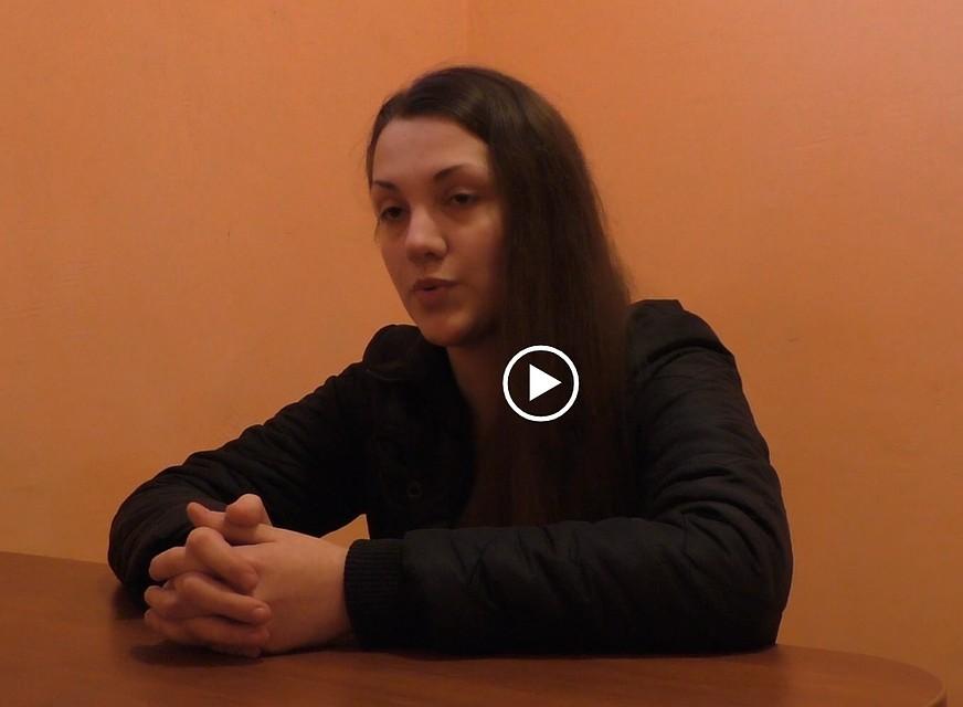 """В Луганске юную девушку бросили на 12 лет за решетку по обвинению в """"шпионаже"""" и ненависти к оккупантам"""