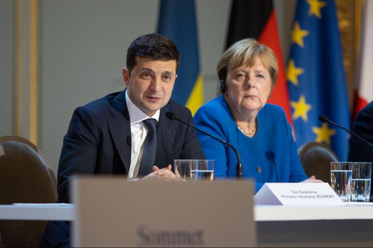 Зеленский, Меркель, Переговоры, Донбасс, Иран, Самолет, Транзит.