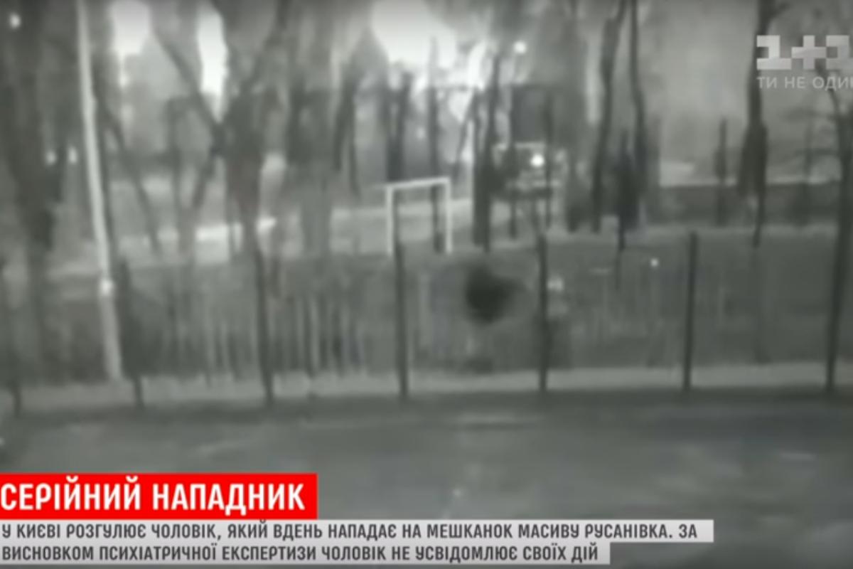 киев, маньяк, избиение, полиция, криминал, шизофрения