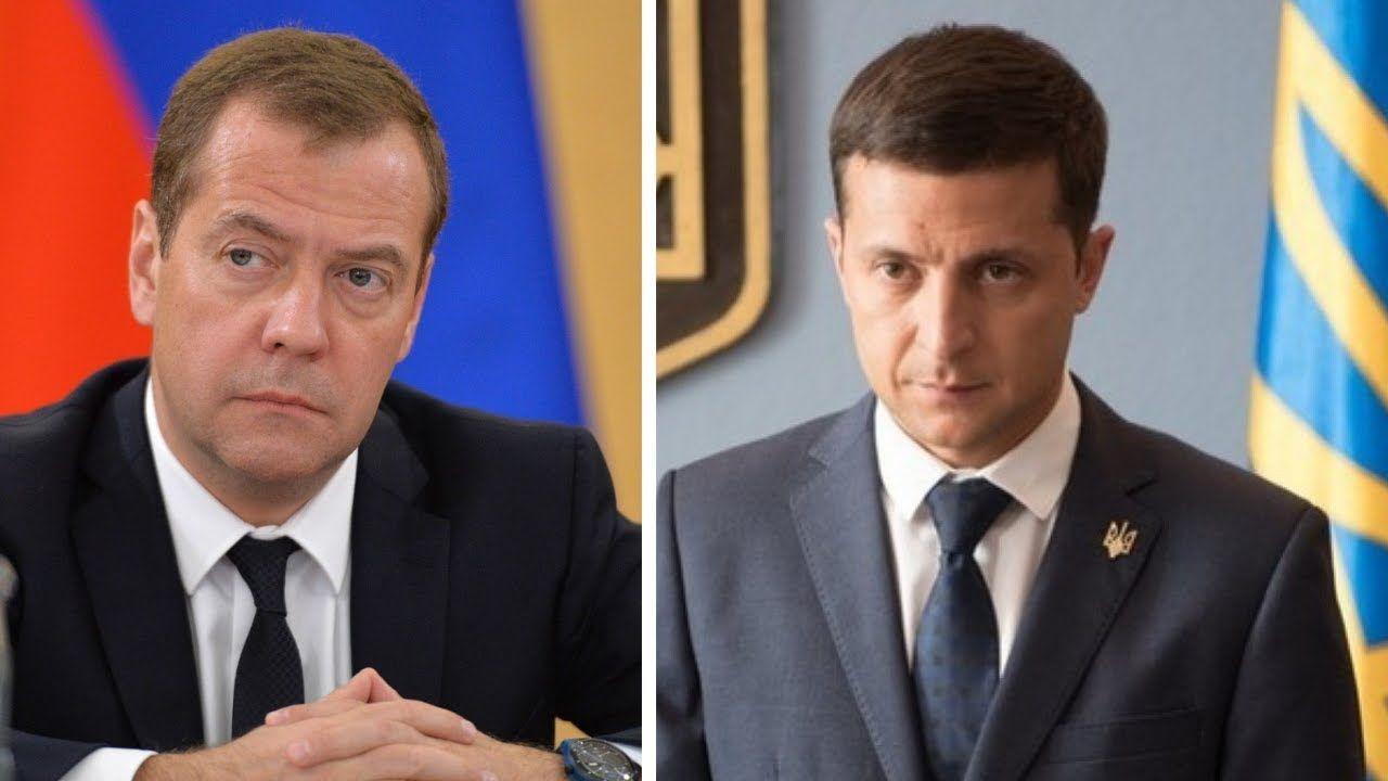 """""""Маниакальное стремление"""", - Медведев грубо ответил Зеленскому из-за дела против Медведчука"""