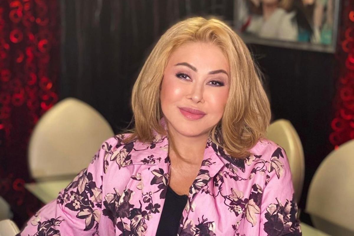 Любовь Успенская перешла на украинский язык