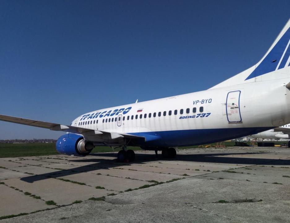Украина выставила на аукцион российский Boeing 737, поучаствовавший в скандале в соцсетях