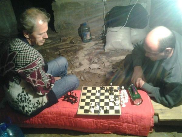 В Горловке продолжаются тяжелые сражения