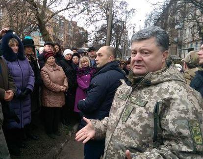 петр порошенко, краматорск, новости, политика, донбасс, ато, украина, визит, поездка