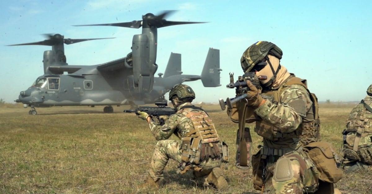 Спецназ США и Украины готовится вместе штурмовать врага с применением V-22 Osprey - видео облетело Сеть