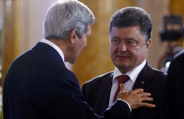 джон керри, сша, украина, политика, петр порошенко, донбасс, восток украины, россия, американские сми