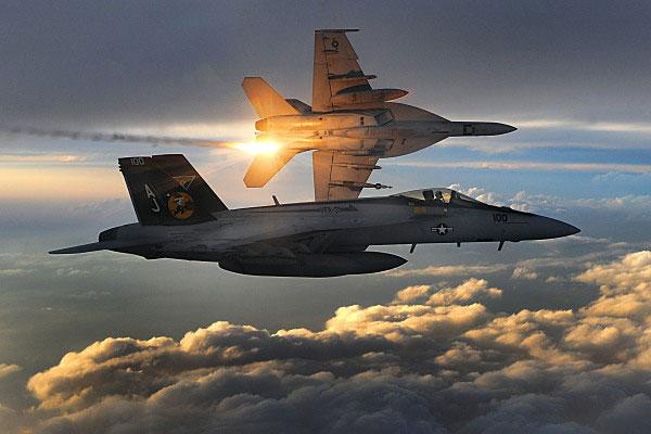 В Сети появились мощные видеокадры, как американский истребитель уничтожает сирийский Су-22