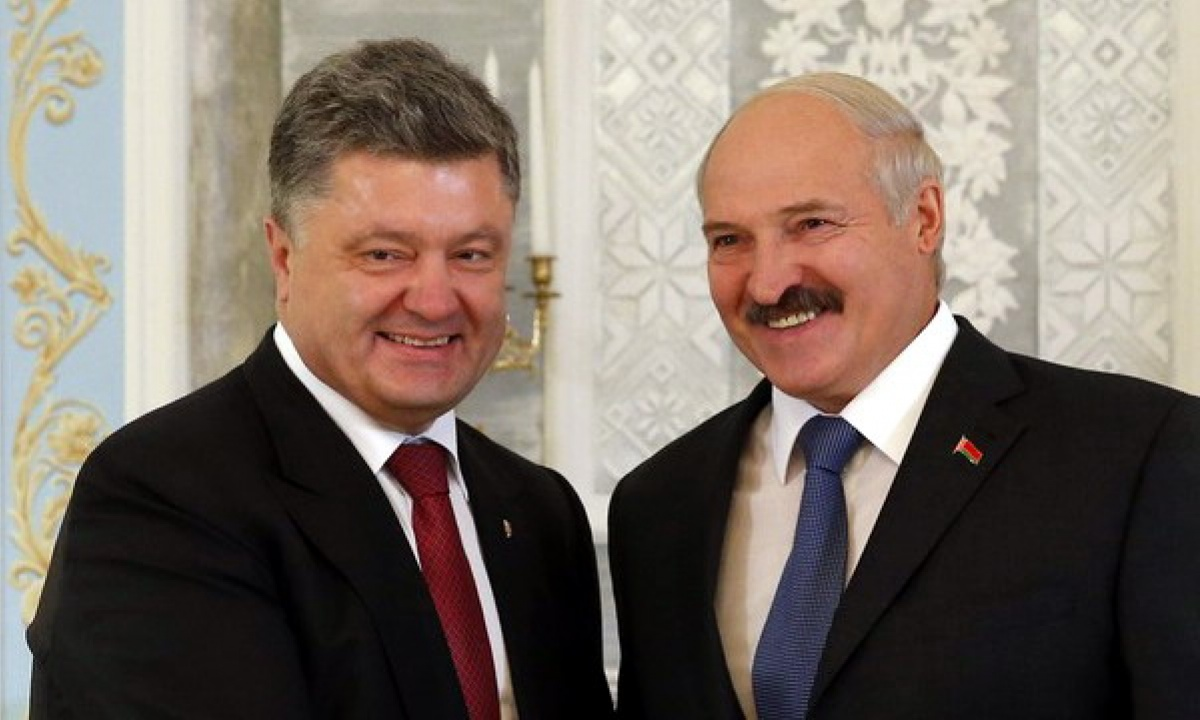 """""""Совместное доверие есть"""", - главный тезис встречи Порошенко и Лукашенко"""