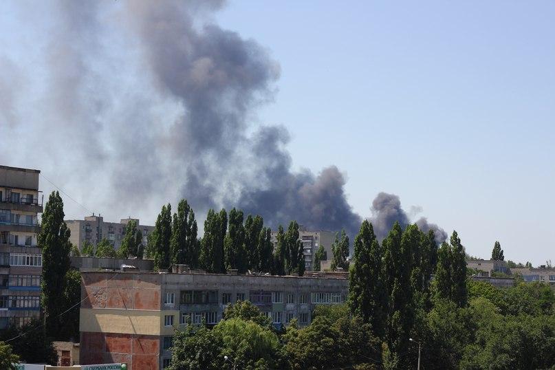 Очевидцы: Первомайск снова под огнем