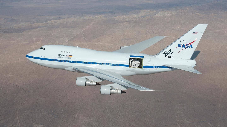 Уникальная астрономическая обсерватория SOFIA, расположенная на борту самолета, вновь поднялась в небо
