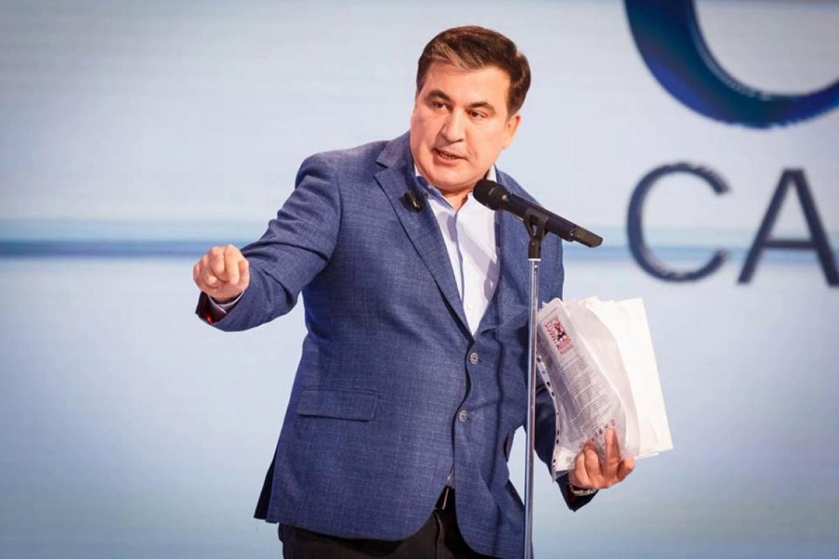 """Саакашвили впервые подверг критике правительство Зеленского: """"Вот почему меня не пустили"""""""