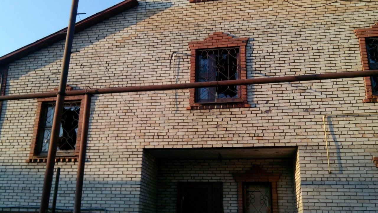 Куйбышевский район Донецка после обстрела 11.08