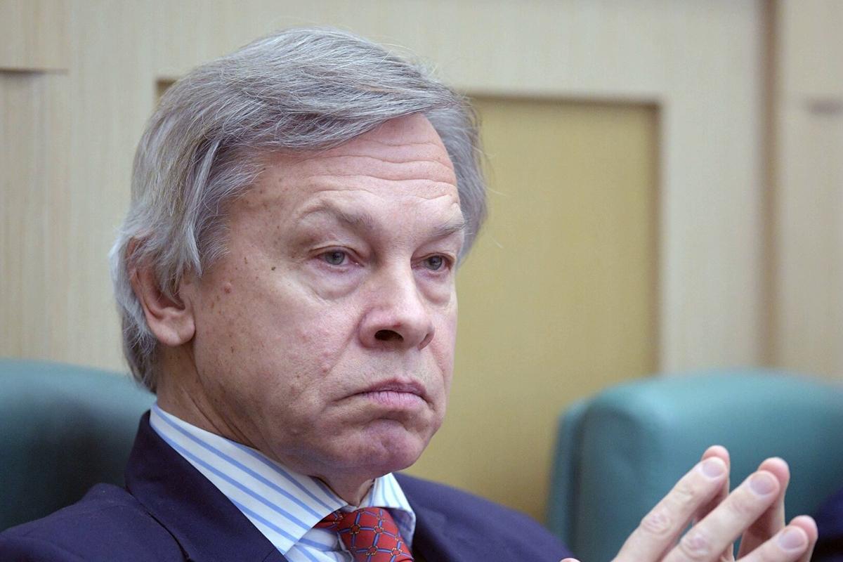"""Пушков встревожен военным сотрудничеством Украины, США и Британии: """"Взят курс на резкое усиление"""""""