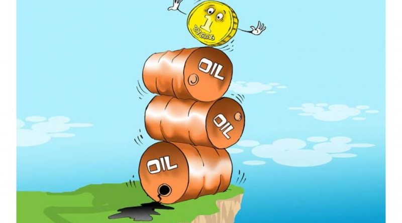 Рубль стремительно дешевеет под давлением коррекции цен на нефть