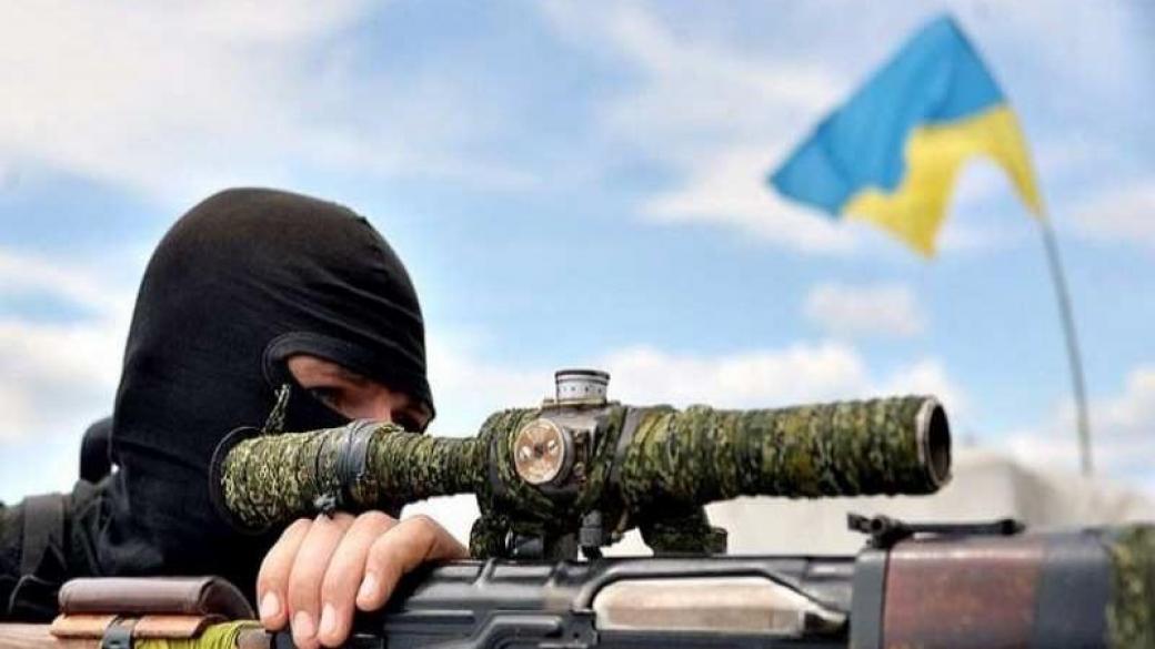 снайпер, ВСУ, ООС, бойцы, выстрел, оккупанты