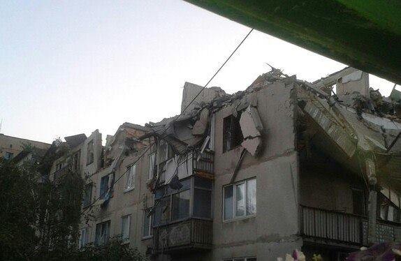 Очевидец: в моем доме в Снежном нет больше двух квартир