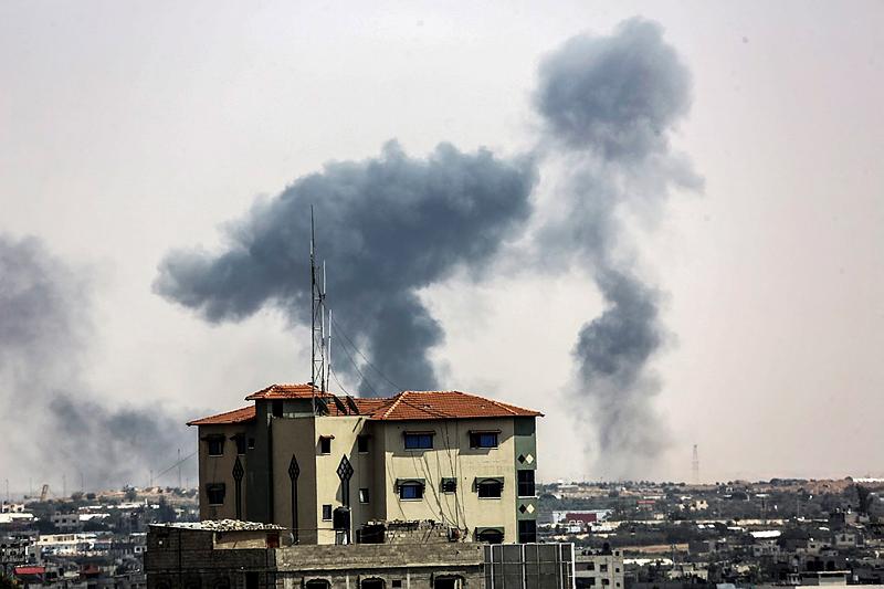 АТО по-израильски: против террористов в секторе Газа ЦАХАЛ использовал танки и авиацию - кадры