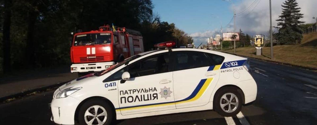 Новости Киева, новости украины, минирование, роддом, торговый центр, мост, терорист