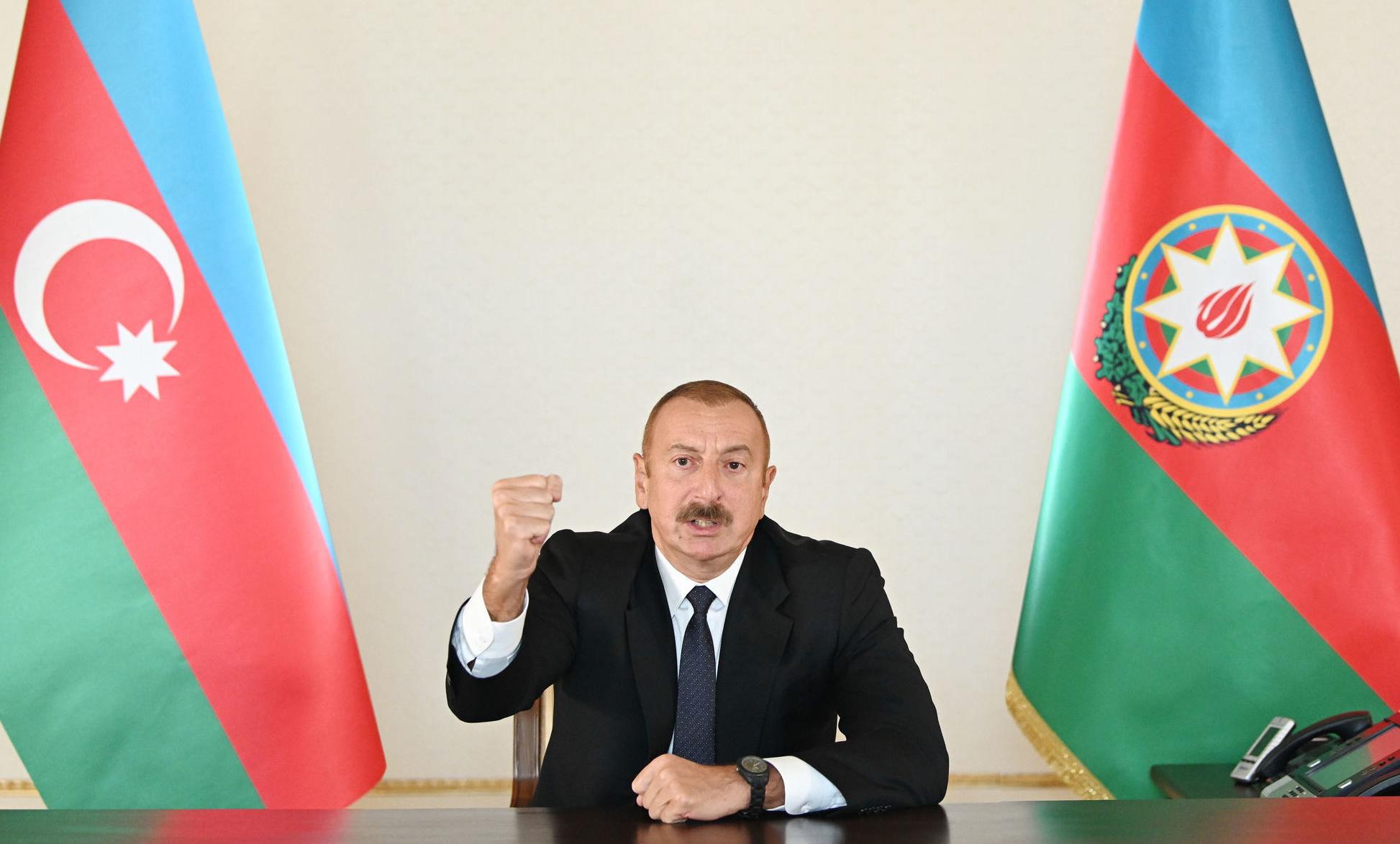 """Алиев: """"Еще 13 сел Карабаха освобождены от оккупации!"""""""
