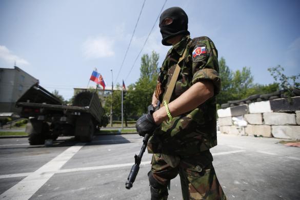 В Луганской области ополченцы обложили данью продавцов на рынке
