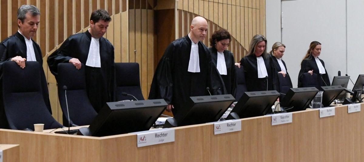 """Дело рейса """"MH17"""": суд в Гааге закончил предварительные слушания"""