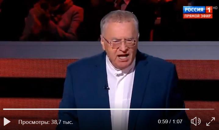 Жириновский предложил, как Москва ответит Великобритании: видео эфира вызвало скандал в РФ