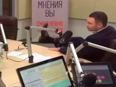 Кличко, Киев, пендель, видео