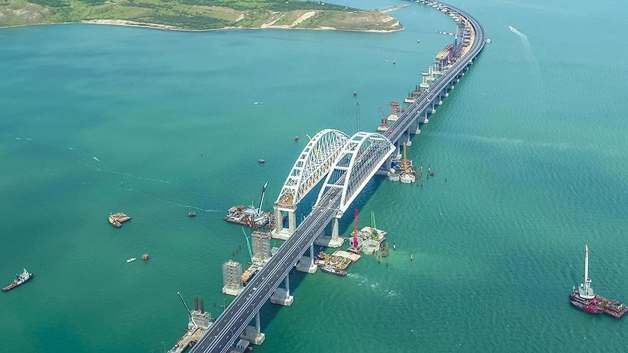 Крымский мост, Крым, власть, поезд, оккупация, Украина, Россия