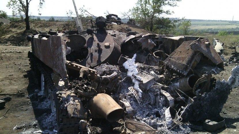Ополчение опубликовало доказательства уничтожения украинской военной техники