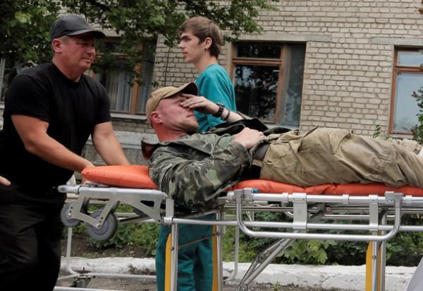 С начала боевых действий в Луганске погибло 93 мирных жителя