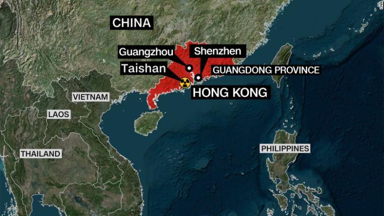 """ЧП на АЭС """"Тайшань"""": Китай признал повышение радиации и повреждение пяти ТВЭЛов"""