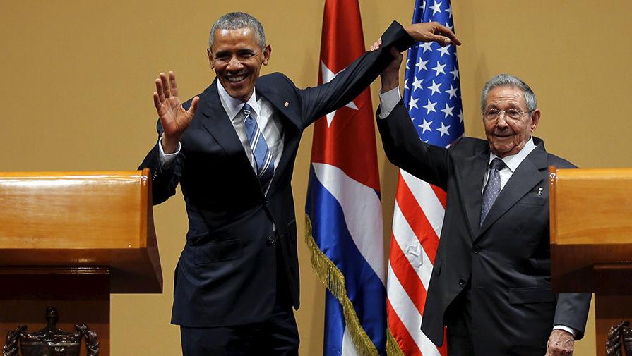 Обама встретился с Раулем Кастро: исторические кадры, облетевшие весь мир
