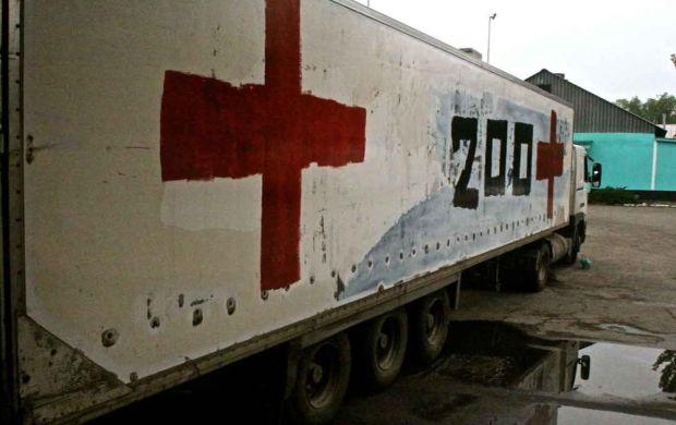 """Отчет ОБСЕ: грузовик с надписью """"Груз-200"""" пересек украинско-российскую границу в Донбассе"""