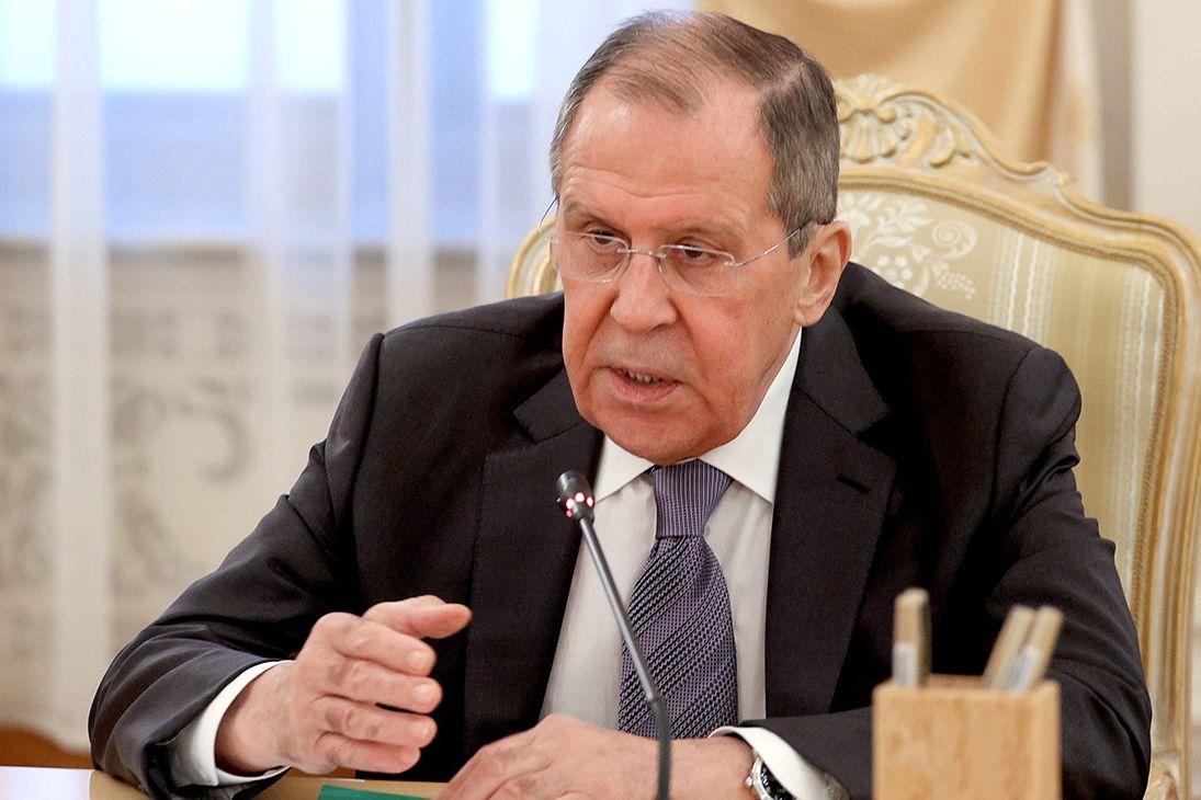 Лавров спустя неделю отреагировал на санкции CAS против Путина и властей России
