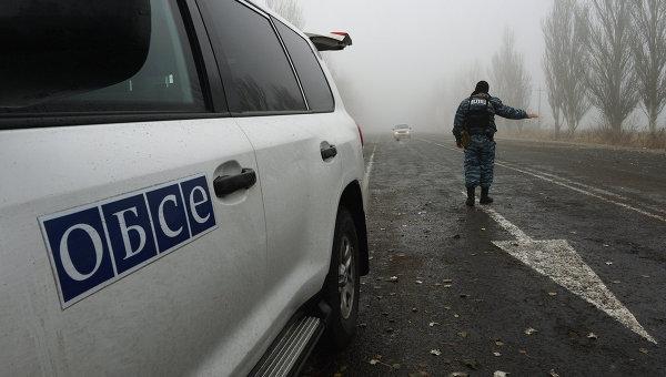 Наблюдателей ОБСЕ не пропустили через КПП в подконтрольном ЛНР районе