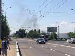 Горсовет: залпы и взрывы слышны в центральных районах Донецка
