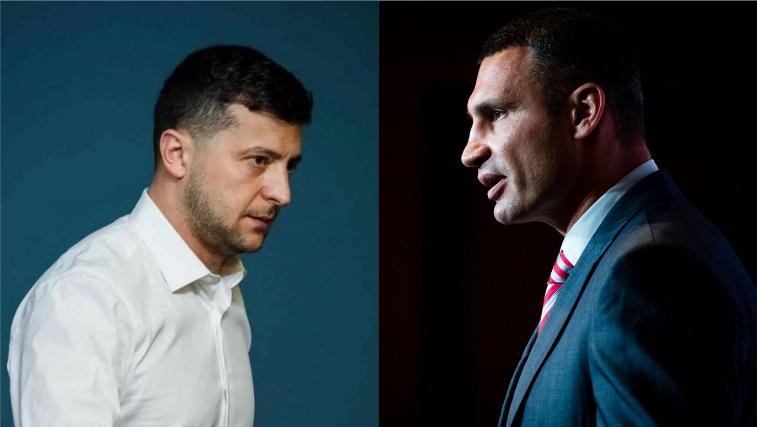 """""""В ОП появилось опасение"""", – у Кличко пояснили, готов ли он идти на выборы президента против Зеленского"""