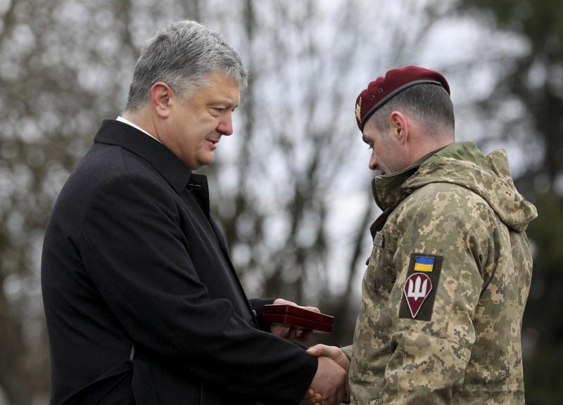 житомир, 95-я бригада, оос, всу, армия украины, война на донбассе, военные, фото, порошенко, награды