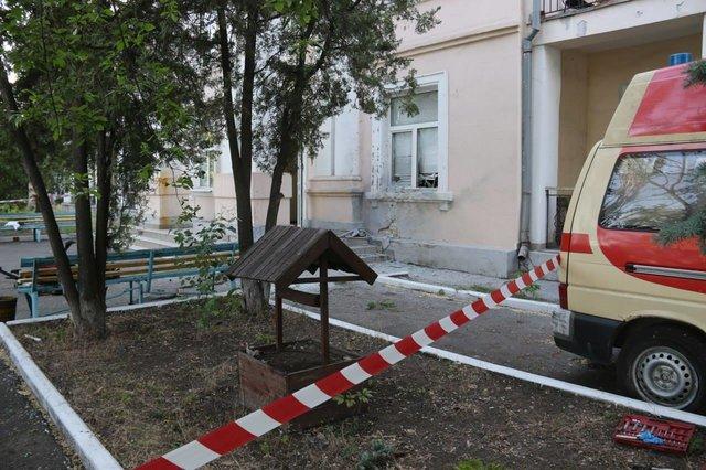 Взрыв на полицейской базе под Мариуполем: появилась информация о пострадавших