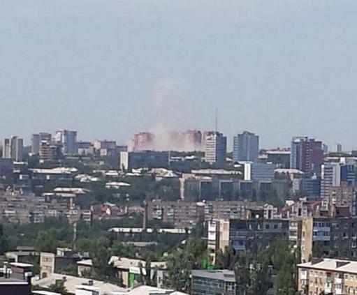 Спикер АТО обвиняет силы ДНР в ударах по центральной части Донецка