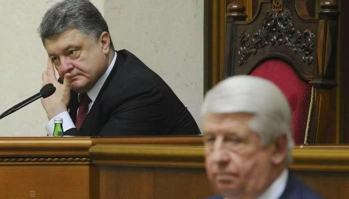 Демарш Виктора Шокина всерьез разозлил Петра Порошенко