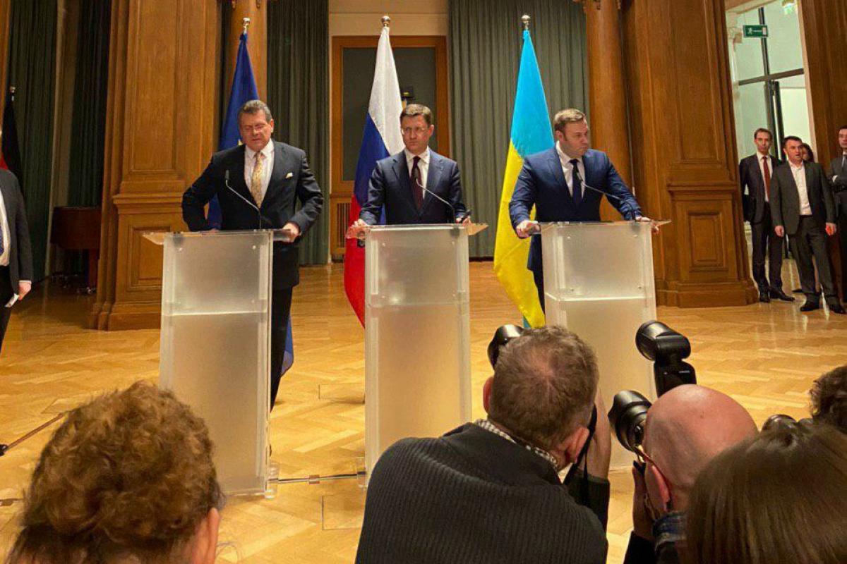 Нафтогаз и Газпром договорились в Берлине по газу - первые подробности